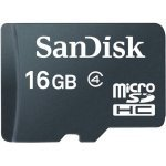 SanDisk 16GB Class 4 MicroSDHC Flash Memory Card