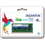 Adata 4GB Low Voltage Laptop DDR3L 1600Mhz RAM
