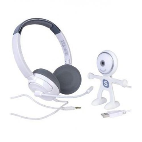 Binatone HD Webcam & Stereo Headset Combo Offer With 3 Months Free Skype