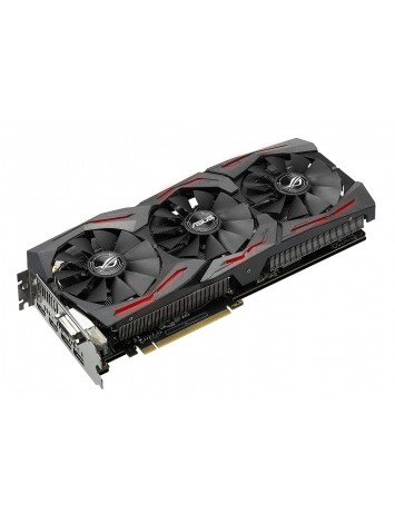 Asus nVidia GEFORCE GTX 1080 O8G 8GB GDDR5X PCIe 3.0 Graphics Card (STRIX-GTX1080-O8G-GAMING)