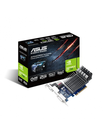 Asus nVIDIA GeForce GT710 2GB Graphics Card (710-2-SL)