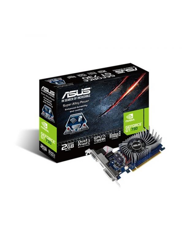 Asus nVIDIA GeForce GT730 2GB GDDR5 Graphics Card (GT730-2GD5-BRK)