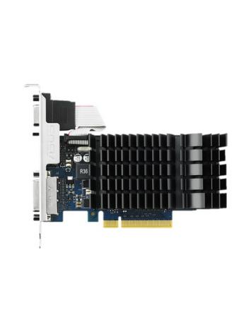 Asus nVIDIA GeForce GT730 Silent 2GB GDDR3 Graphics Card ( GT730-SL-2GD3-BRK )