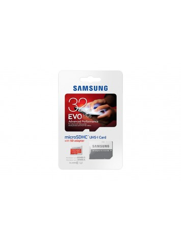 Samsung EVO Plus Class 10 32GB MicroSD Memory Card with SD Adapter (MB-MC32D)