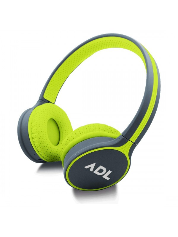 ADL Discover C180 Bluetooth Wireless Headphones with Mic/AUX Input (Green)