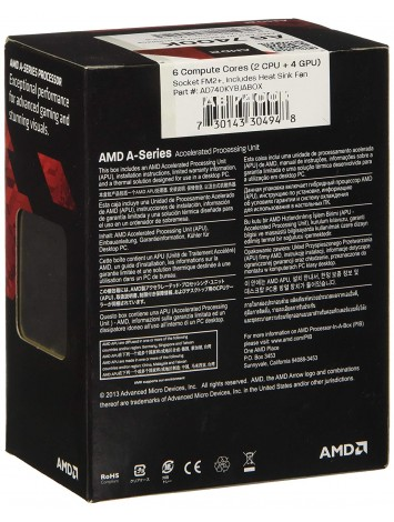 AMD A6-7400K Kaveri Dual Core 3.5 GHz Desktop Processor - Socket FM2+