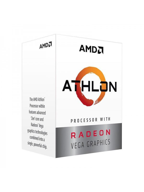 AMD Athlon 200GE Dual Core 3.2 GHz Desktop Processor - AM4 Socket