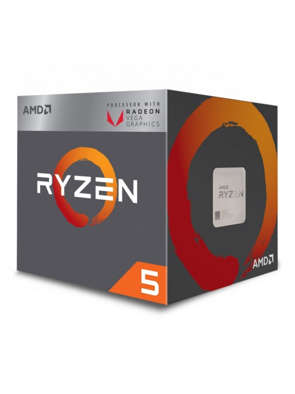 AMD RYZEN 5 1400 Quad Core 3.2 GHz (3.4 GHz Turbo) Desktop Processor - Socket AM4