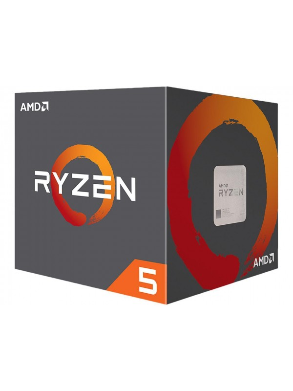 AMD RYZEN 5 2600 6-Core 3.4 GHz (3.9 GHz Max Boost) Desktop Processor - Socket AM4