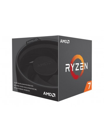 AMD RYZEN 7 2700 8 Core 3.2 GHz (4.1 GHz Max Boost) Desktop Processor - Socket AM4