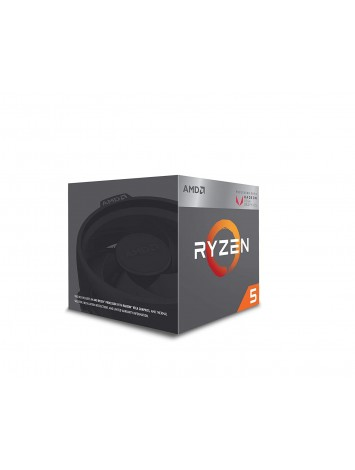 AMD RYZEN 5 2400G Quad Core 3.6 GHz (3.9 GHz Turbo) Desktop Processor - Socket AM4