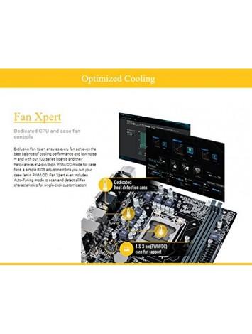 Asus H110M-CS LGA 1151 Motherboard for 6th/7thGen Intel Processors