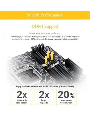 Buy Asus H110M-CS LGA 1151 Motherboard from thevaluestore in