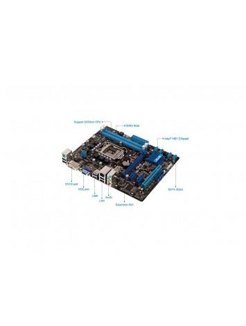 Asus P8H61-MLX2 Micro ATX Intel Motherboard - Socket LGA 1155