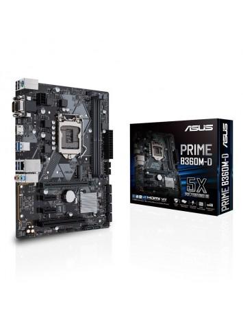 Asus PRIME B360M-D mATX Intel Motherboard - LGA 1151 Socket