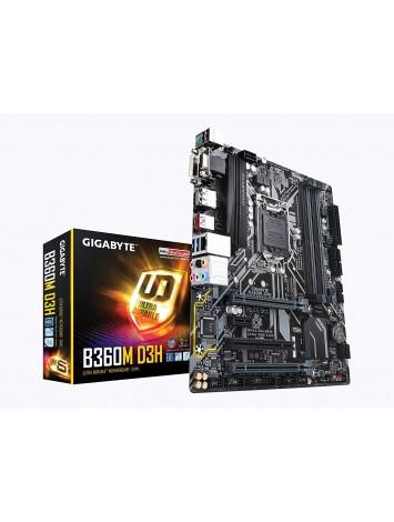 Gigabyte B360M D3H LGA1151 8th Gen Micro ATX DDR4 Motherboard
