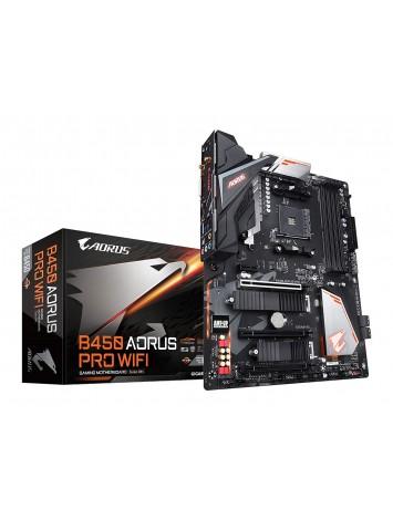 Gigabyte B450 AORUS PRO WIFI ATX AMD Motherboard - AM4 Socket