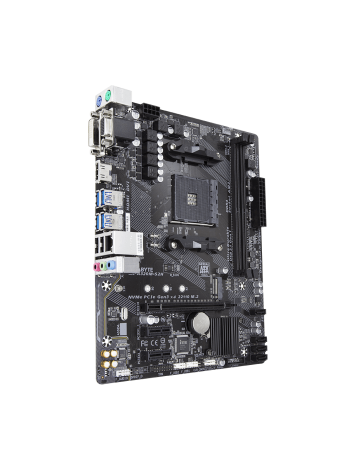 Gigabyte GA-A320M-S2H Motherboard for AMD Ryzen 7th Gen A-series/ Athlon Processors
