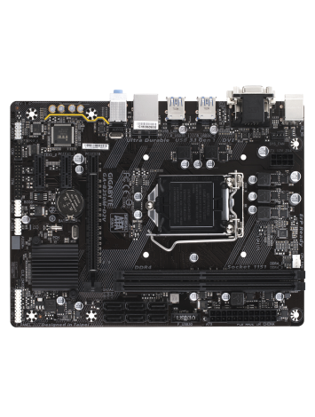 Gigabyte GA-B250M-D2V LGA1151 USB 3.0 Micro ATX Motherboard for 6th/7th Gen Intel Processors
