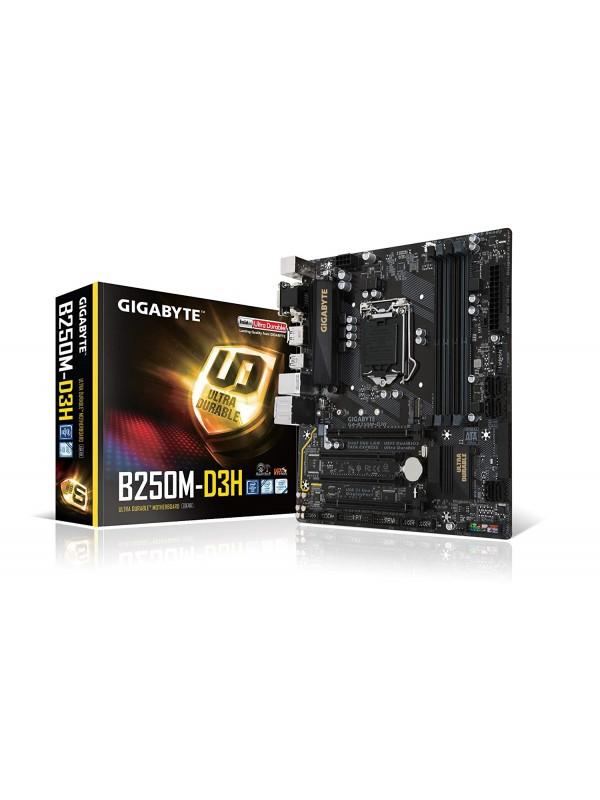 Gigabyte GA-B250M-D3H LGA1151 7th Gen Micro ATX DDR4 Intel Motherboard