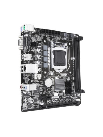 Gigabyte GA-B75M-S Motherboard for 2nd and 3rd Gen Intel Processors