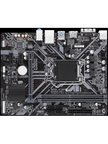Gigabyte H310M H LGA 1151 Micro ATX Intel Motherboard
