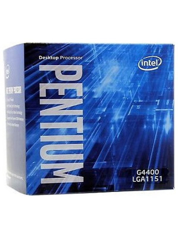 Intel G4400 Pentium Dual Core 6th Generation Processor (Skylake/3.30GHz, LGA1151 Socket/3MB Cache)