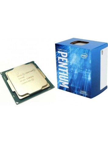 Intel Pentium G4560 Kabylake Dual Core 7th Gen Desktop Processor (3.50GHz/ FCLGA1151 Socket/ 3MB Cache)