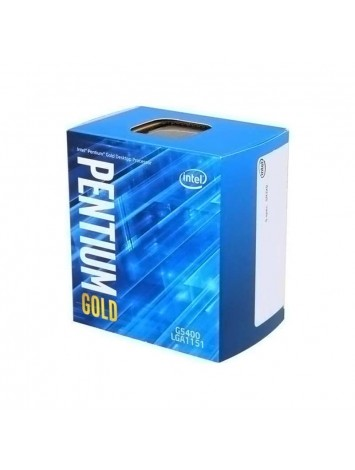 Intel Pentium Gold G5400 Dual Core 8th Generation  Processor (3.7GHz/ LGA1151/ 4MB Cache)