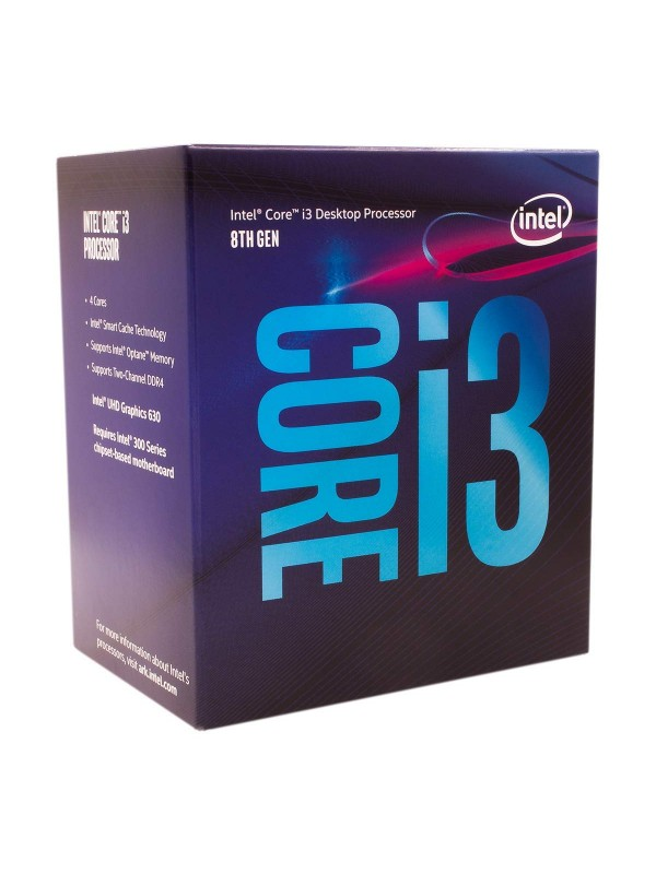 Intel Core i3-8100 8th Generation Processor (3.60 GHz/LGA1151 Socket/Quad Core)