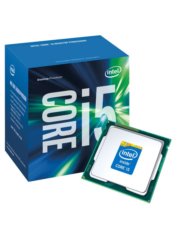 Intel Core i5-7400 7th Generation Processor (Quad Core/3 GHz/LGA1151 Socket/6MB Cache)