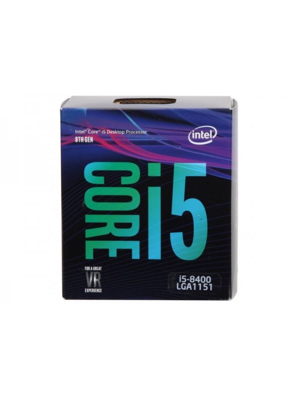 Intel Core i5-8400 8th Generation Processor (Hexa Core/2.8 GHz/ LGA1151 Socket/ 9MB Cache)