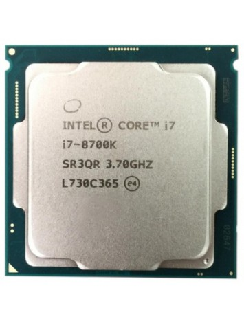 Intel Core i7-8700k 8th Generation Processor (3.70 GHz/ LGA1151 Socket/ 12MB Cache/ Coffe Lake/ Hexa Core)