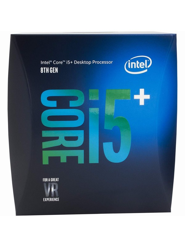 Intel 8th Gen Core i5+ 8400 Hexa Core Desktop Processor with 16GB Intel Optane Memory (2.8 GHz/ LGA1151 Socket/ 9MB Cache)