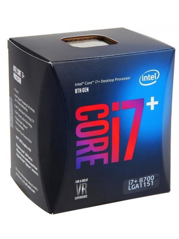 Intel 8th Gen Core i7+ 8700 Desktop Hexa Core Processor (3.20 GHz/ FCLGA1151 Socket/ 12MB Cache) with 16GB Intel Optane Memory