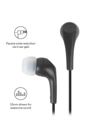 Motorola Earbuds 2 In-Ear Wired Earphones/Headphones With Mic (Black)