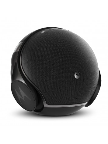 Motorola Sphere+ Plus 2-in-1 Bluetooth Speaker with Over-Ear Headphones - Black(SP003 A BK)
