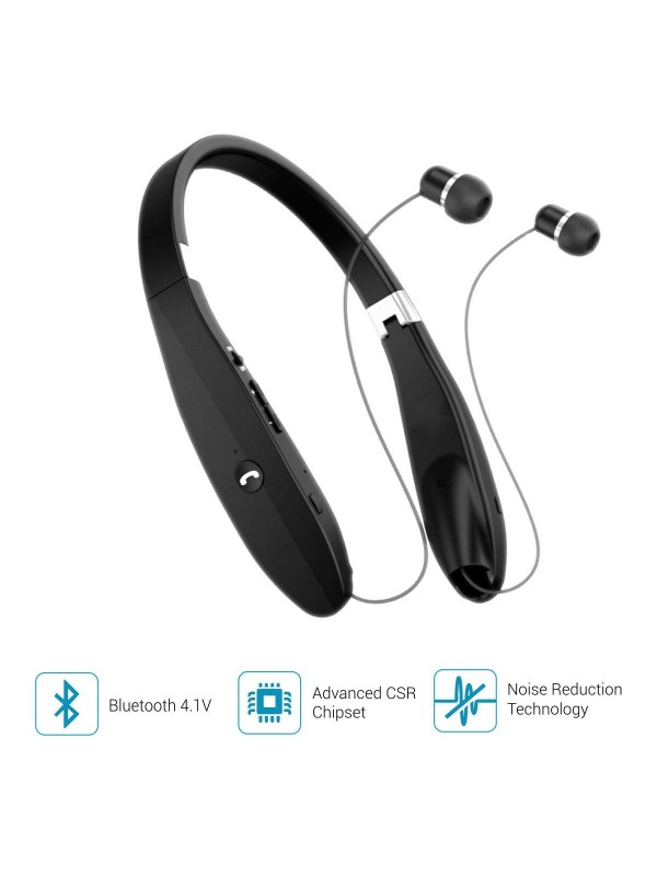 Portronics Harmonics 200 Bluetooth Wireless Stereo Headset/Neckband (POR-927)