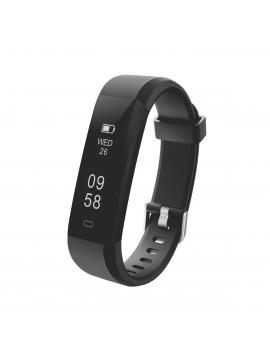Portronics Yogg Plus Smart Fitness Wristband (Black) POR-924