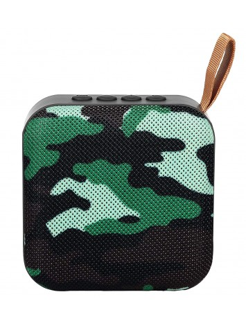 Hamaan P-5 Portable Wireless Bluetooth Speaker (Camoflague)