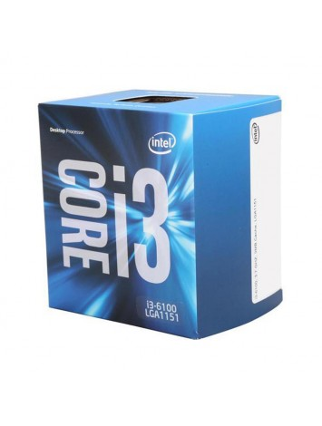 Intel Core i3-6100 6th Generation Desktop Processor (3.70 GHz/ LGA1151 Socket/ 3MB Cache)