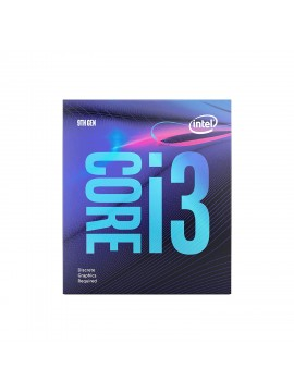 Intel Core i3-9100f 9th Generation Desktop Processor (3.60 GHz/ LGA1151 Socket/ 6MB Cache) - Discrete Graphics Required