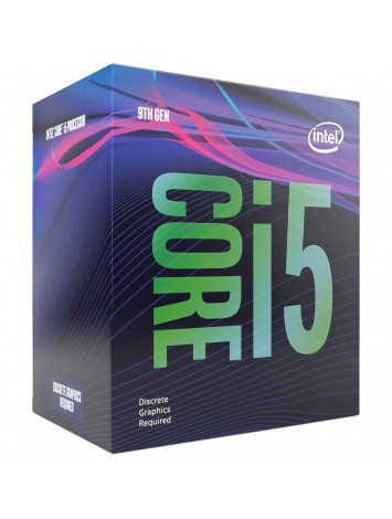 Intel® Core™ i5 9400F 9th Generation Desktop Processor Without Graphics 6 Cores 4.1 GHz Turbo