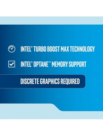 Intel Core i5 9400F 9th Generation Processor (2.9GHz - 4.1 GHz Turbo/9MB Cache/LGA1151/Coffee Lake) - Discrete Graphic Card Needed for Display