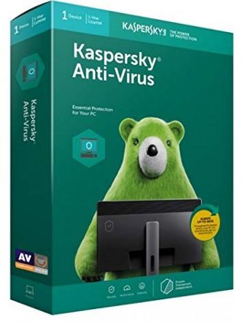 Kaspersky Anti-Virus Latest Version - 1 User, 1 Year (CD)