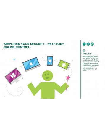 Kaspersky Total Security Latest Version - 5 Users, 1 Year