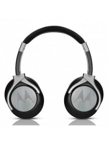 Motorola Pulse Max Black Wired Headphones with Mic
