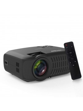 Portronics BEEM 200 Lumen Bright Full HD Multimedia LCD Projector (120 inch Large Screen/HDMI/VGA/USB/AV/SD Card Slot/Audio Output)