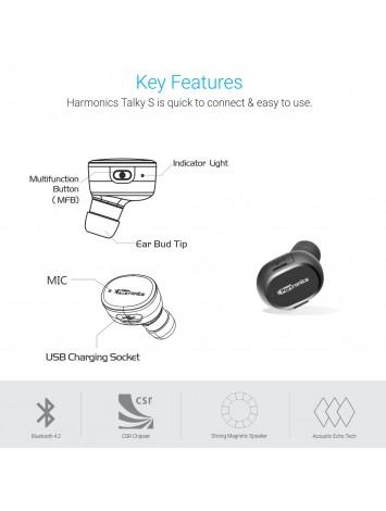 Portronics Harmonics Talky S Mini Bluetooth Earbud (POR-948)