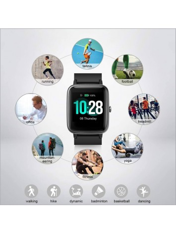 Portronics Yogg Kronos Smart Watch with Fitness Tracker (POR-991)